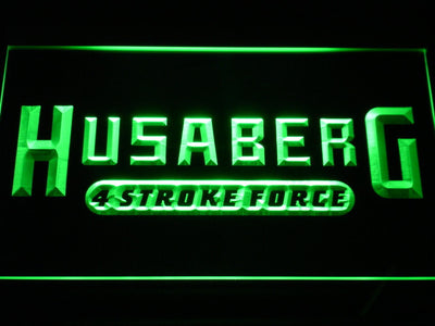 Husaberg LED Neon Sign - Green - SafeSpecial