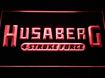 Husaberg LED Neon Sign - Red - SafeSpecial