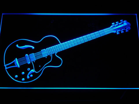Image of Ibanez Artcore AF75 LED Neon Sign - Blue - SafeSpecial