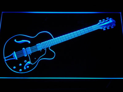 Ibanez Artcore AF75 LED Neon Sign - Blue - SafeSpecial