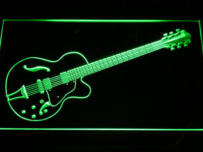 Ibanez Artcore AF75 LED Neon Sign - Green - SafeSpecial