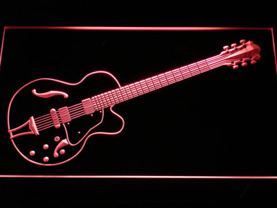 Ibanez Artcore AF75 LED Neon Sign - Red - SafeSpecial