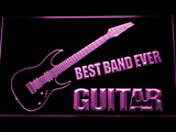 Ibanez Guitar Best Band Ever LED Neon Sign - Purple - SafeSpecial