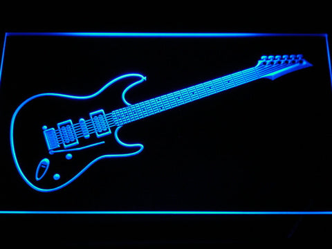 Ibanez Saber S470 LED Neon Sign - Blue - SafeSpecial