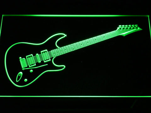 Ibanez Saber S470 LED Neon Sign - Green - SafeSpecial