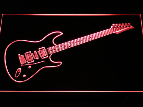 Image of Ibanez Saber S470 LED Neon Sign - Red - SafeSpecial