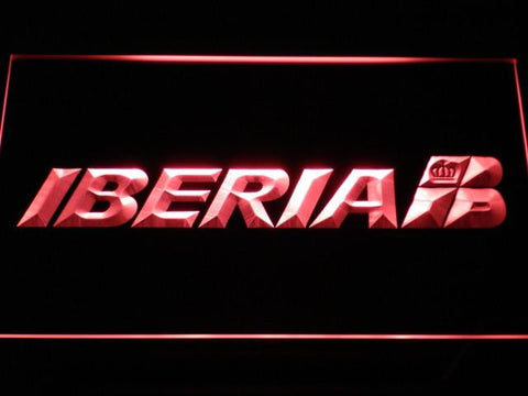 Iberia LED Neon Sign - Red - SafeSpecial