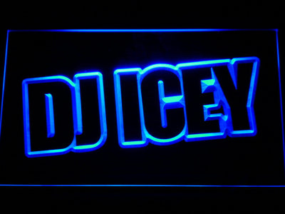 Icey LED Neon Sign - Blue - SafeSpecial
