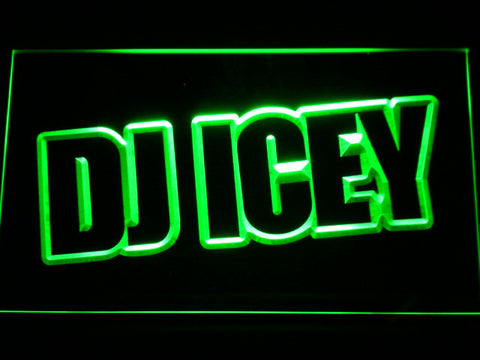 Image of Icey LED Neon Sign - Green - SafeSpecial