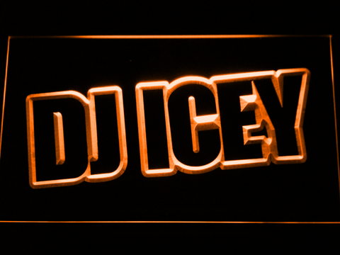 Image of Icey LED Neon Sign - Orange - SafeSpecial
