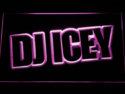 Image of Icey LED Neon Sign - Purple - SafeSpecial
