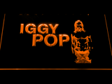 Iggy Pop LED Neon Sign - Orange - SafeSpecial