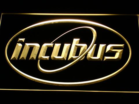 Image of Incubus Orbit LED Neon Sign - Yellow - SafeSpecial
