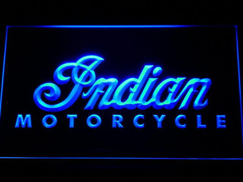 Indian LED Neon Sign - Blue - SafeSpecial