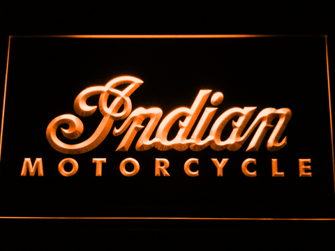 Indian LED Neon Sign - Orange - SafeSpecial