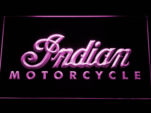 Indian LED Neon Sign - Purple - SafeSpecial