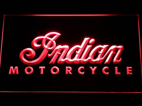 Indian LED Neon Sign - Red - SafeSpecial