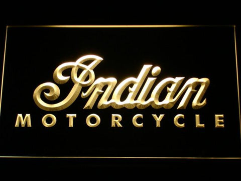 Indian LED Neon Sign - Yellow - SafeSpecial