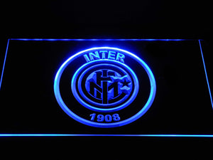 Inter Milan 1908 LED Neon Sign - Blue - SafeSpecial