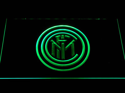 Inter Milan LED Neon Sign - Green - SafeSpecial