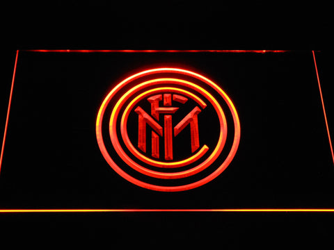 Inter Milan LED Neon Sign - Orange - SafeSpecial