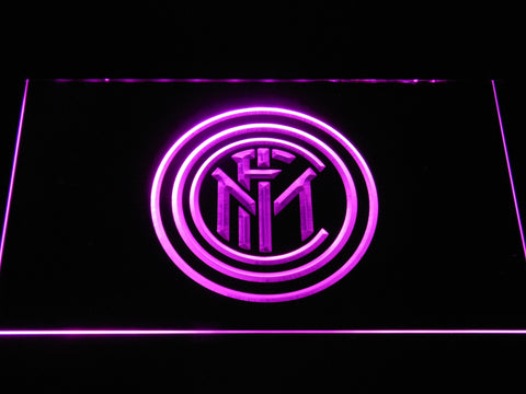 Inter Milan LED Neon Sign - Purple - SafeSpecial