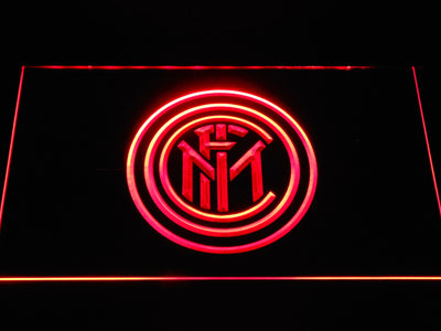 Inter Milan LED Neon Sign - Red - SafeSpecial