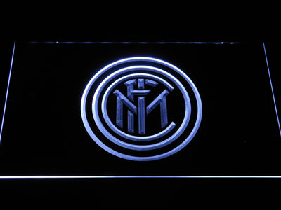 Inter Milan LED Neon Sign - White - SafeSpecial