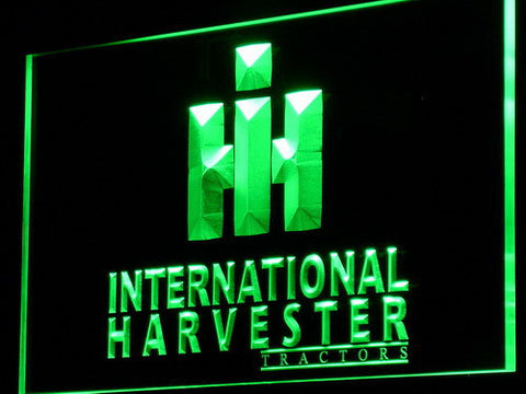 International Harvester Tractors LED Neon Sign - Green - SafeSpecial