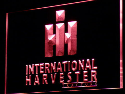 International Harvester Tractors LED Neon Sign - Red - SafeSpecial