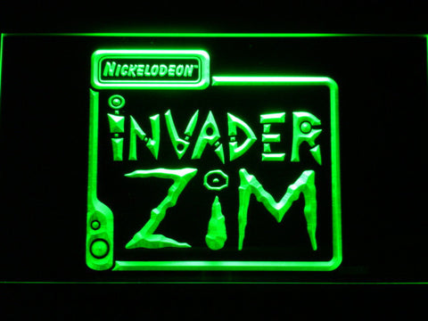 Image of Invader Zim LED Neon Sign - Green - SafeSpecial