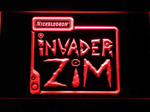 Image of Invader Zim LED Neon Sign - Red - SafeSpecial