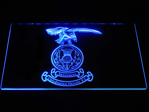 Image of Inverness Caledonian Thistle F.C. LED Neon Sign - Blue - SafeSpecial