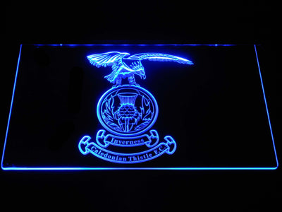 Inverness Caledonian Thistle F.C. LED Neon Sign - Blue - SafeSpecial