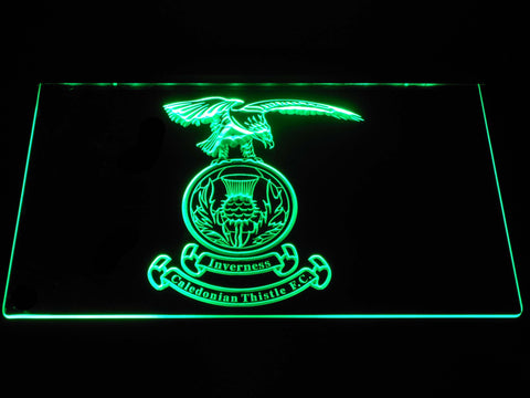 Image of Inverness Caledonian Thistle F.C. LED Neon Sign - Green - SafeSpecial