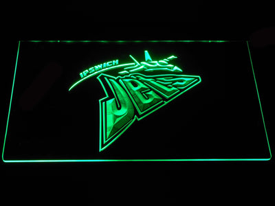 Ipswich Jets LED Neon Sign - Green - SafeSpecial