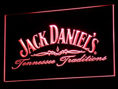 Image of Jack Daniel's Tennessee Tradition LED Neon Sign - Red - SafeSpecial
