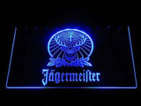 Jagermeister LED Neon Sign - Blue - SafeSpecial