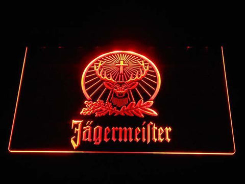 Jagermeister LED Neon Sign - Orange - SafeSpecial