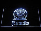 Jagermeister LED Neon Sign - White - SafeSpecial