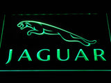 Jaguar LED Neon Sign - Green - SafeSpecial