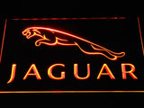 Jaguar LED Neon Sign - Orange - SafeSpecial