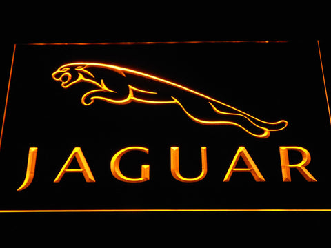 Jaguar LED Neon Sign - Yellow - SafeSpecial
