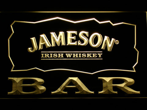 Image of Jameson Bar LED Neon Sign - Yellow - SafeSpecial