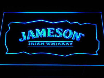 Jameson LED Neon Sign - Blue - SafeSpecial