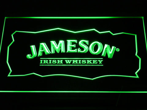 Image of Jameson LED Neon Sign - Green - SafeSpecial
