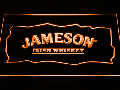 Jameson LED Neon Sign - Orange - SafeSpecial