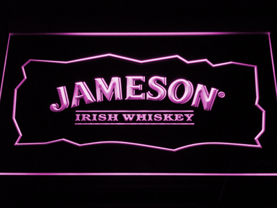 Jameson LED Neon Sign - Purple - SafeSpecial