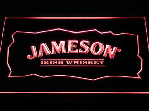Image of Jameson LED Neon Sign - Red - SafeSpecial