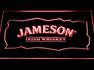Jameson LED Neon Sign - Red - SafeSpecial